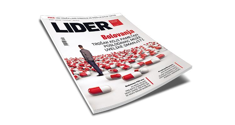 Bolovanja – trošak koji pametan poslodavac može smanjiti (Časopis Lider – tema tjedna)